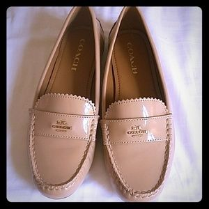 Coach Womens Odette Closed Toe Loafers